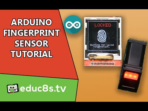 Use a Fingerprint sensor module to add biometric security to your Arduino projects