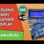 WiFi Weather display using a Wemos D1 board and operweathermap.org website