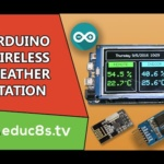 Wireless Weather Station using Arduino Due, DHT22 sensor and NRF24L01+