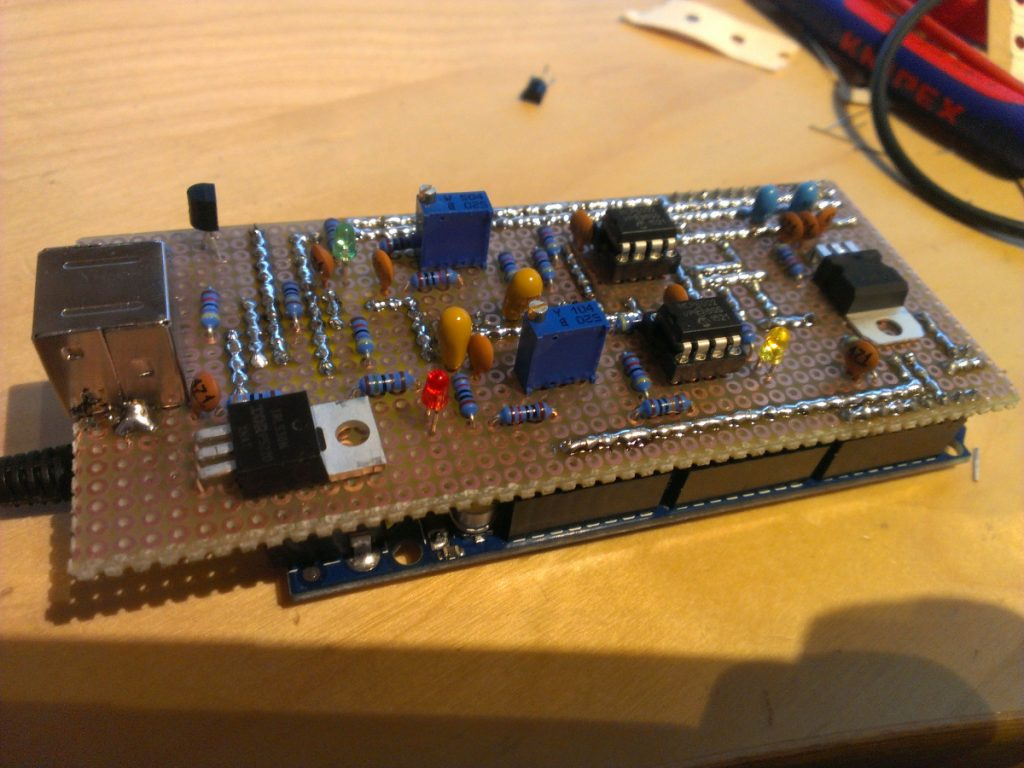 Homebrew Multimode Digital Voice Modem adapter
