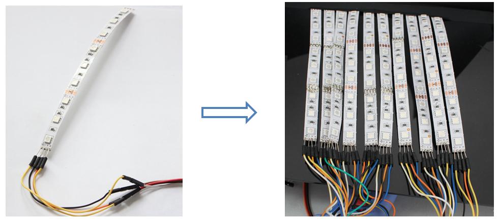 Arduino LED Scroll Bar using easyEDA - Electronics-Lab