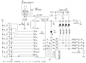 4 Channel Rf Remote Controller Electronics Lab