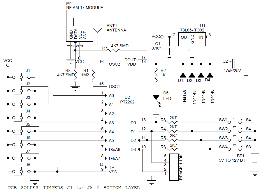 4-channel-rf-remote-controller-tx-schematic