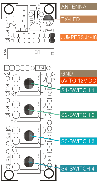 4-Channel-RF-Remote-Controller-WIRING-TX
