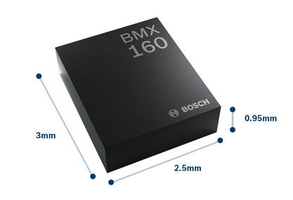 BMX160 from Bosch Sensortec, a New Smallest 9-axis Motion Sensor