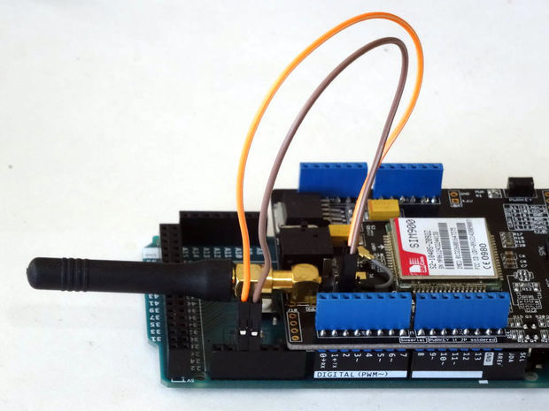 Send and Receive SMS with GSM SIM900 Arduino Shield