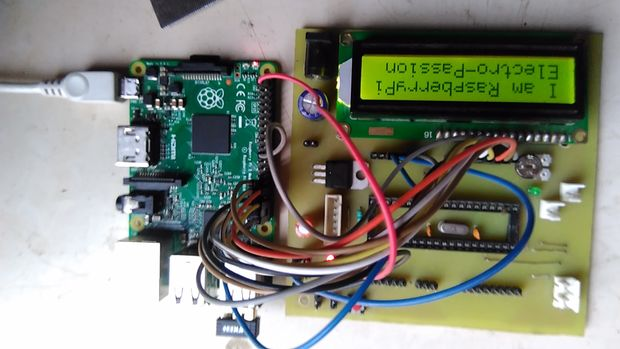 LCD 16×2 Interface with Raspberry Pi