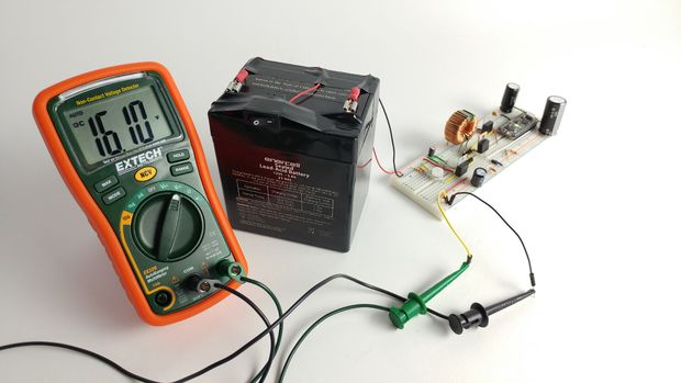 Build an Arduino boost converter