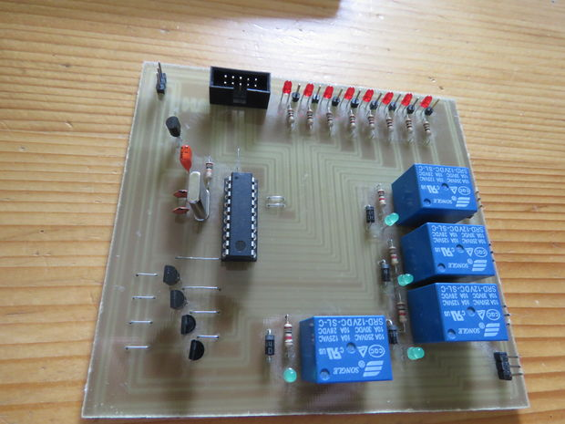 Make your own Attiny2313 development board