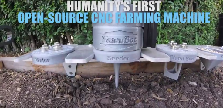 FARMBOT Open-source CNC Farming Machine