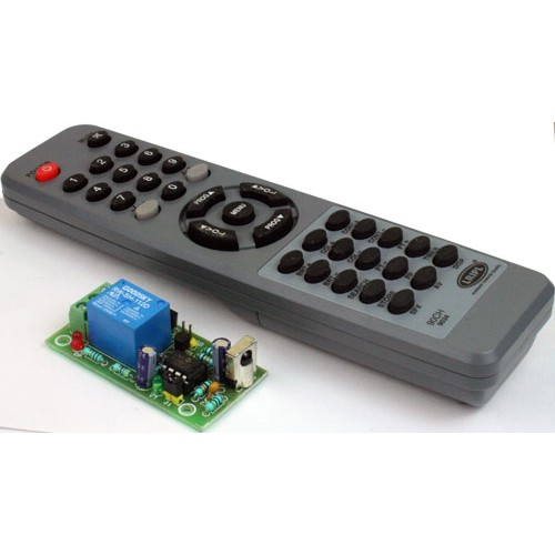 One Channel Infra Red Remote Controller