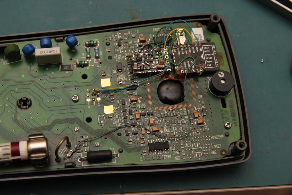 Fluke 15B+ Digital Multimeter Upgraded with ESP8266