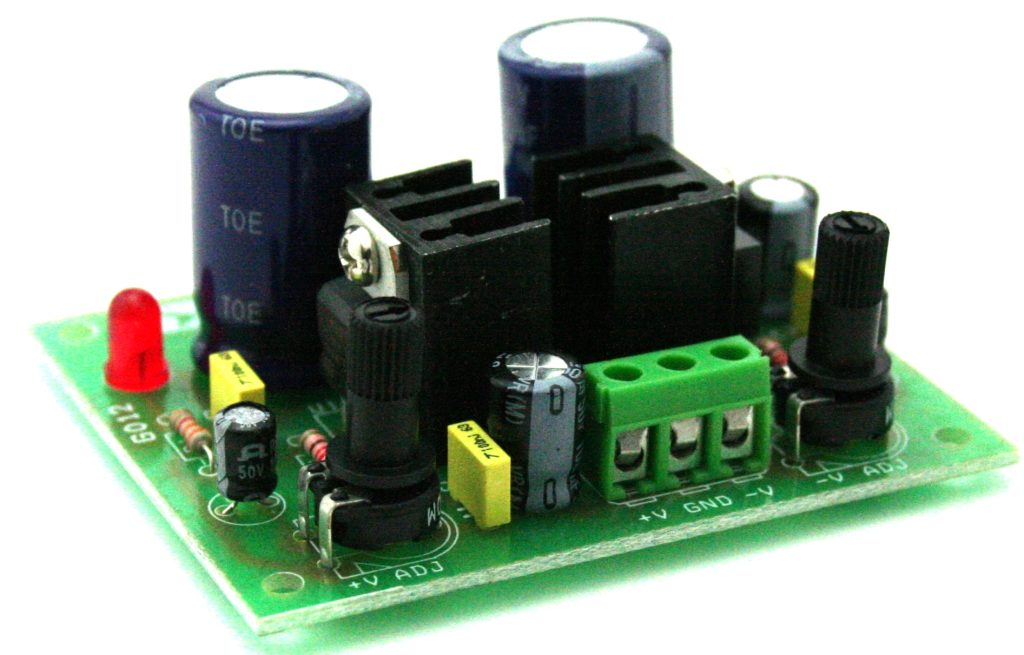 Dual Adjustable Regulated power supply 1.2V TO 37V DC