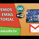 Arduino ESP8266 Tutorial: Send an email easily with your Wemos D1 board using a PHP script!