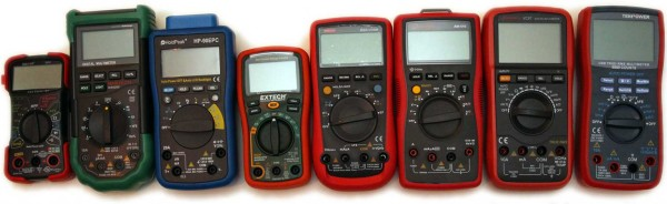 Entry Level auto-ranging Digital Multimeters reviewed