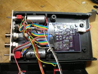 Optogenetic hardware setup
