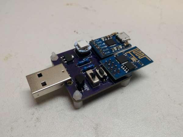 ESP8266 temperature logger