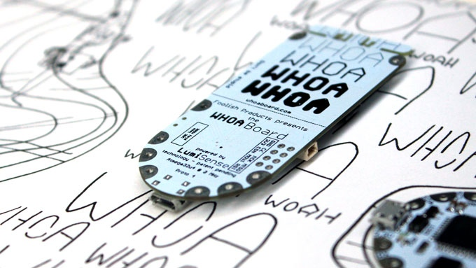 Whoa Board: Dream With Touch Sensing EL Wire, Panels, Paint