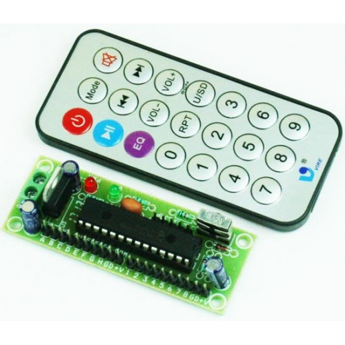 16 Channel Tiny InfraRed Remote Controller – NEC Code