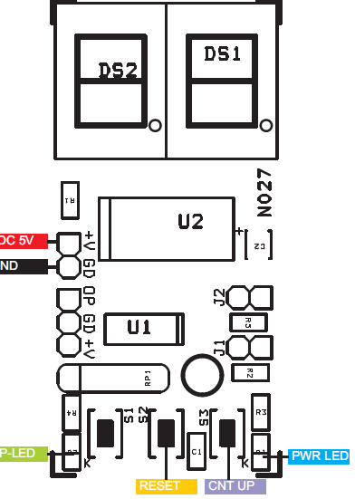 2-Digit-Digital-Up-Counter-Using-PIC16F1825-CONNECTIONS