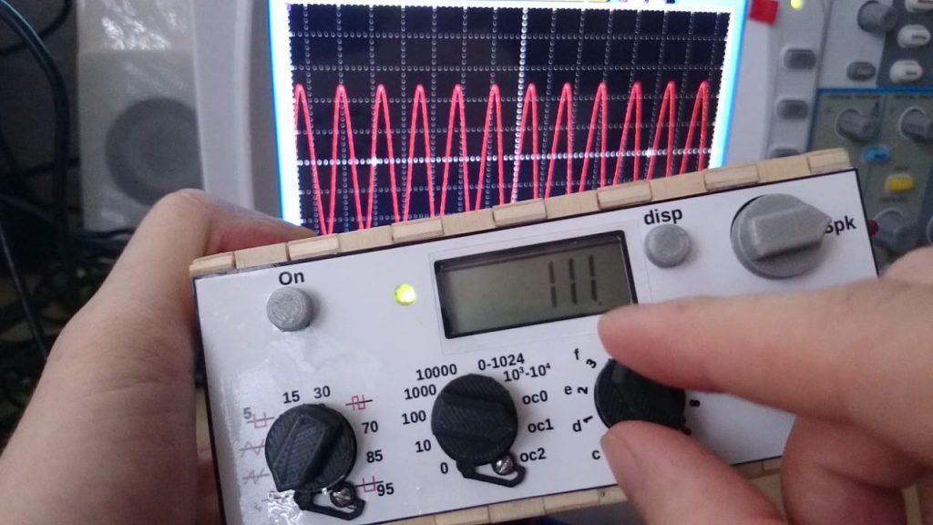 1Hz to 30KHz Wave Generator Using Arduino