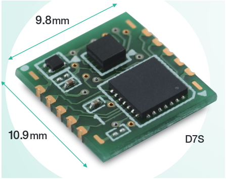D7S Vibration Sensor From Omron