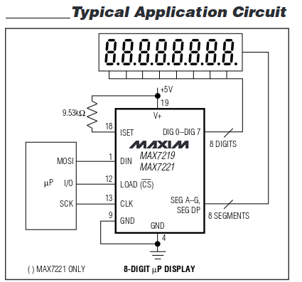MAX7219_app