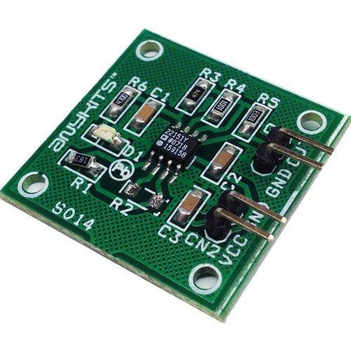 Magnetic field sensor using AD22151