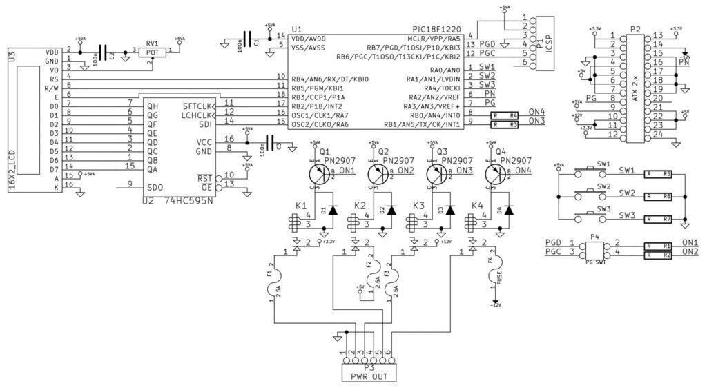 A Bench Power Supply using computer PSU