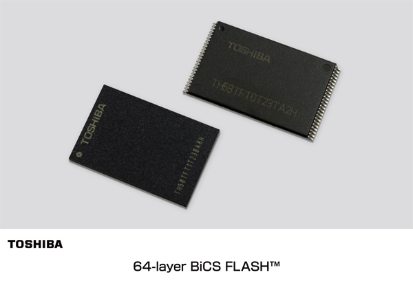 Samsung and Toshiba Will Start 64-layer 3D NAND Production Soon