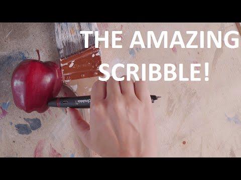 Colour grabbing Scribble Pen