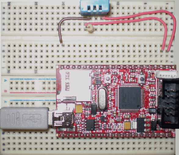 DHT11 Temperature and Humidity Sensor with Pinguino