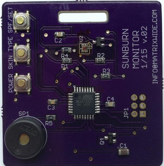 Sunburn Monitor – A UV monitor