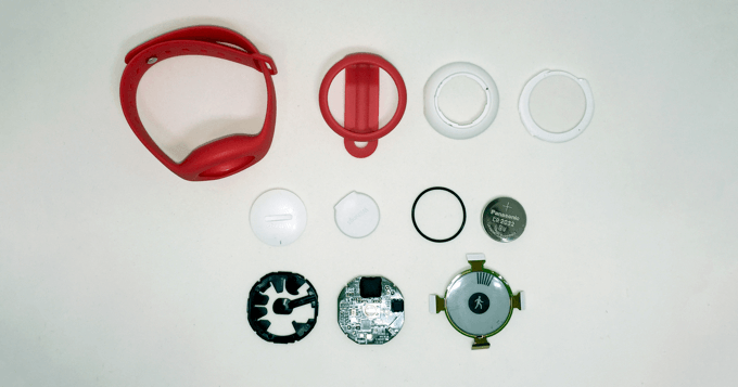 Withings GO activity tracker teardown