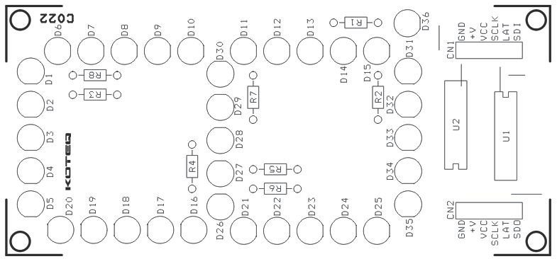 7-segment-led-based-spi-display-using-74hc595-pcb-silk