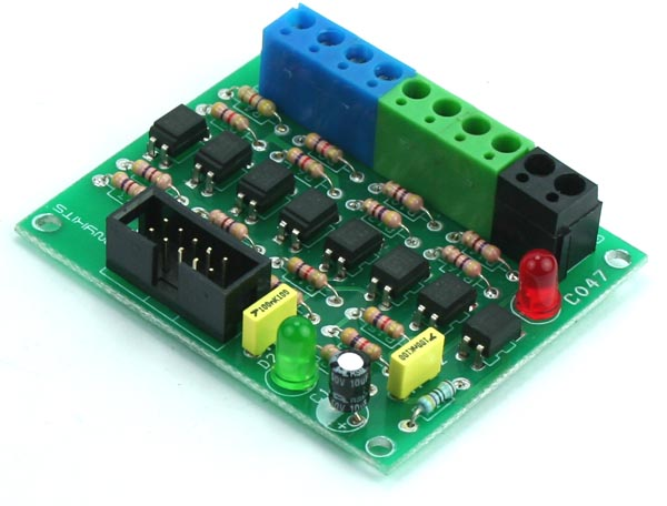 8 Channel Optically Isolated IO Board