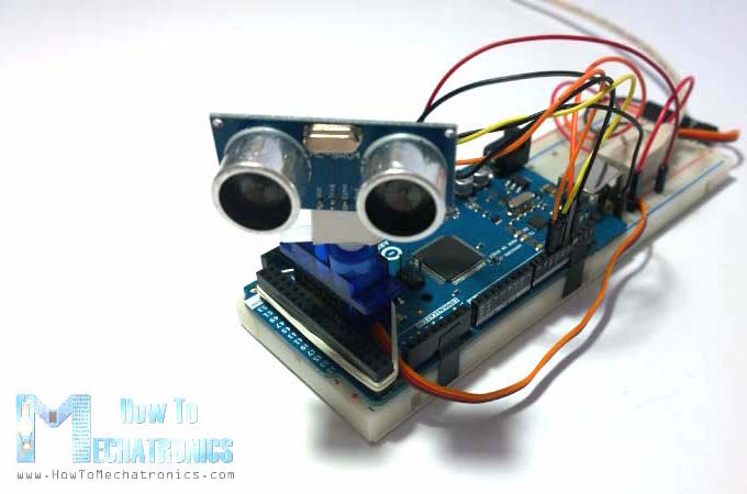 Arduino radar using sound waves