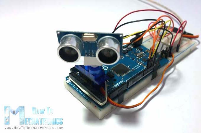 Arduino radar using sound waves