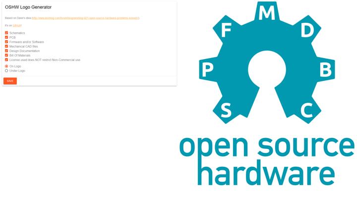 OSHW Logo Generator