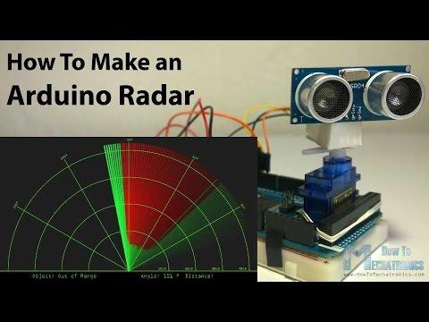 Arduino Radar Using Sound Waves Electronics Lab