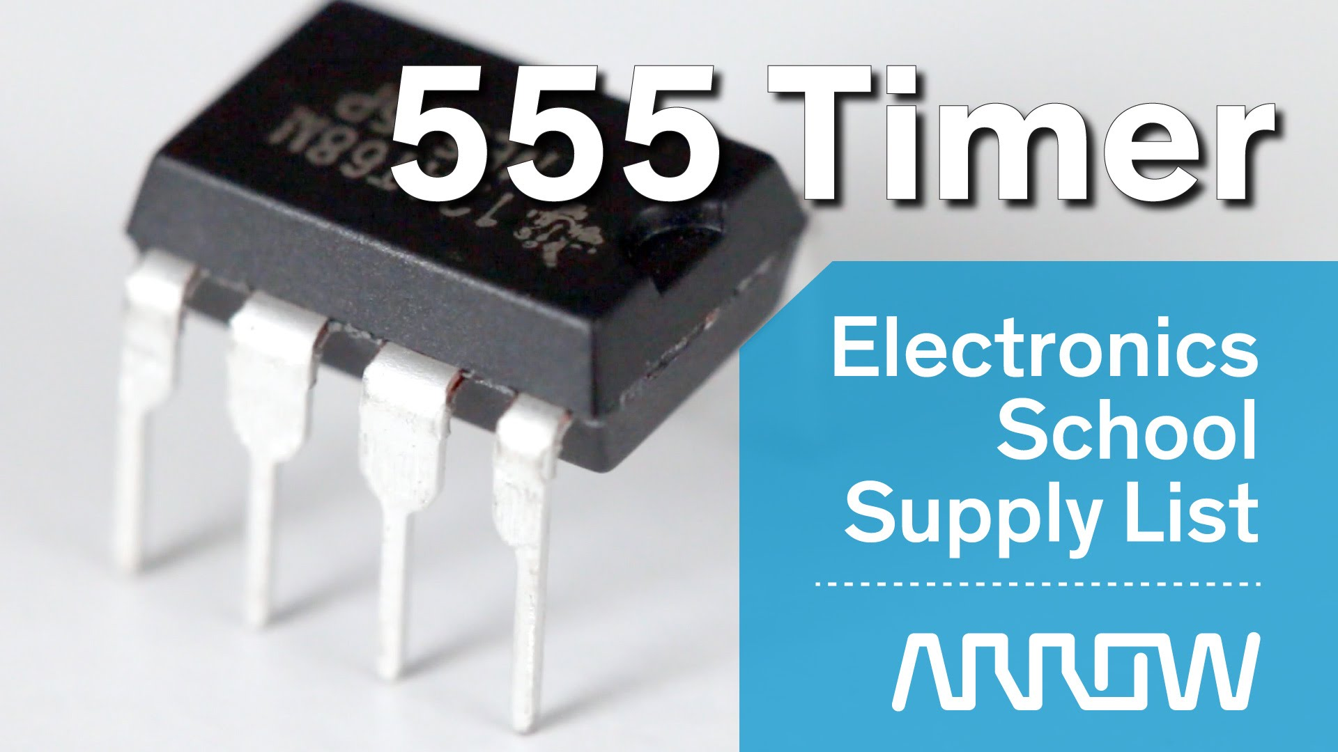 Basic Electronics – How to use a 555 Timer