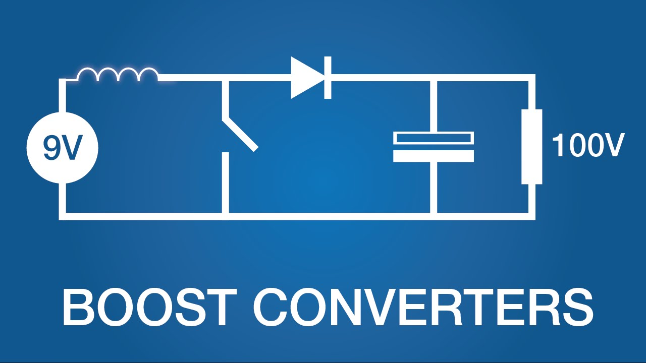 How Boost Converters (DC-DC Step-Up) Works