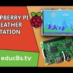 Touch Weather Station using a DHT22 Sensor and a Raspberry Pi 3 with TKInter