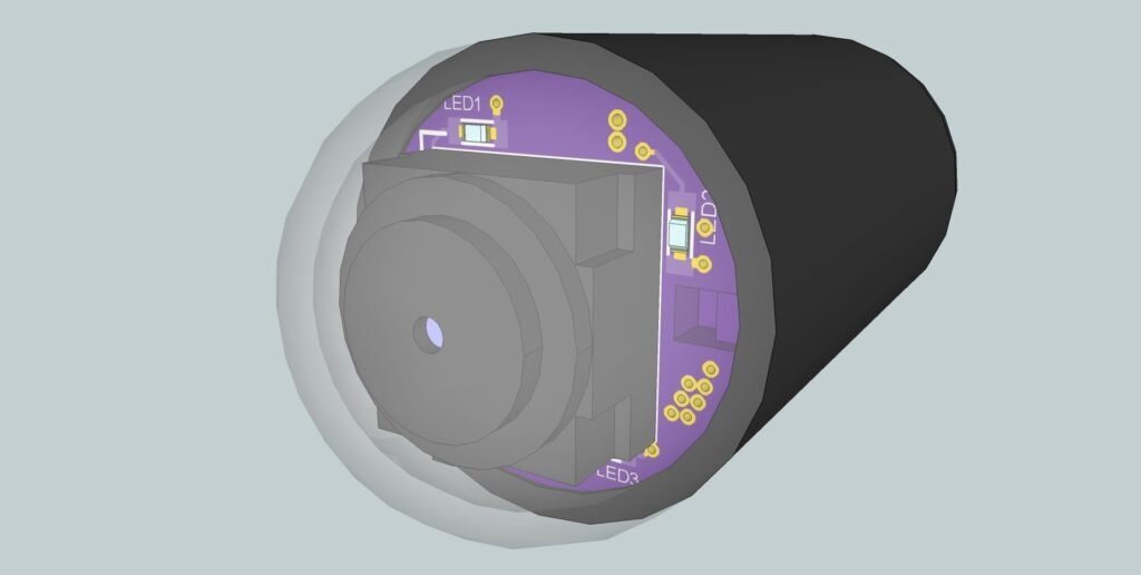 Tiny Wireless Capsule Camera
