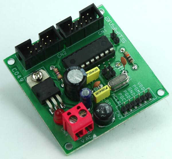 18 PIN PIC Development Board with Header IO
