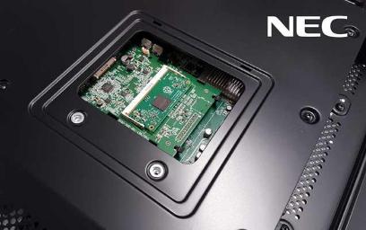 NEC Display Powered by Raspberry Pi