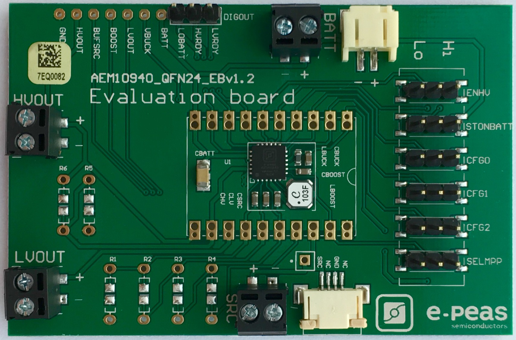 The AEM10940 Evaluation Board