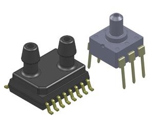 Pressure sensors need as little as 0.9 V