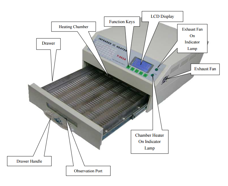 T962A Reflow Oven