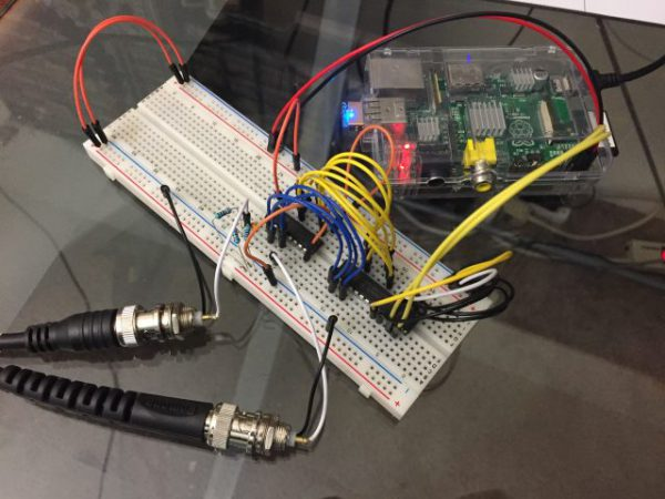 Raspberry Pi RF frequency counter